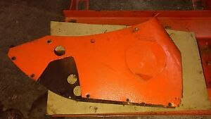 Vintage Allis Chalmers C Tractor steering Cover Tool Box Gemmer Steer Box