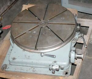 Sip Type Pd 5 Jig Bore Rotary Table 23 Inch inv 14589