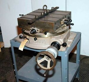 Troyke Dmt 18 Cross Slide Rotary Table inv 876