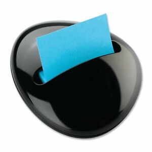 Post it Pop up Notes Dispenser For 3 X 3 inch Notes Black Pebble Collection By