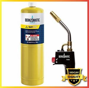 Bernzomatic Ts4000kc Trigger Start Torch Kit Cylinder Torch Ergonomic Gas