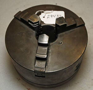 6 1 2 3 jaw Chuck K308 D1 3 Spindle Mount inv 29432