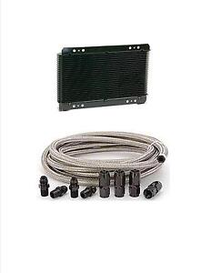 Automatic Transmission Cooler Line Kit 6an Steel Braided 4l80e Super Cooler