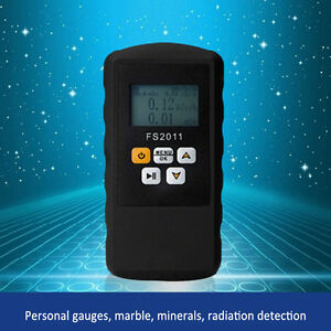 Geiger Counter Nuclear Radiation Detector Beta Gamma X ray Marble Dosimeter