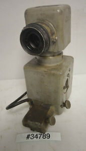Jones And Lamson Pc 14 Comparator Lamp Housing inv 34789