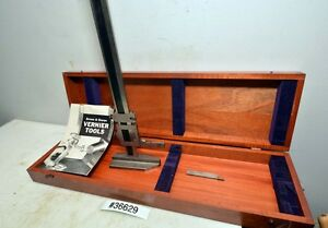 Brown And Sharpe 585 Vernier Height Gage 19 Inch inv 36629