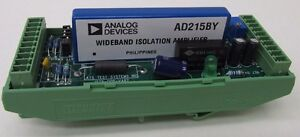 Analog Devices Ad215by Wideband Isolation Amplifier Phoenix Contact 42826dw