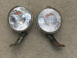 Lqqk Pair Perfect Fog 500 Vintage Driving Light Lamp Car Truck