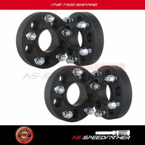 Full Set 5x4 5 To 5x5 1 25 Adapter Wheel Spacers Fit Jeep Jk Rims On A Tj Yj