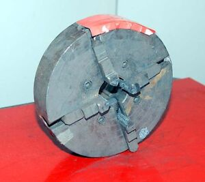 South Bend 10 4 Jaw Solid Jaw Chuck inv 16937