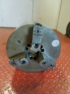 South Bend 10 1 2 Inch 3 Jaw Chuck Flat Back inv 37027