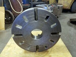 14 Cast Iron Face Plate D1 8 Spindle Mount inv 36434