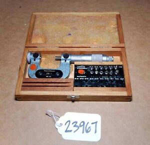 Brown And Sharpe Micrometer No 210 1 inv 23967