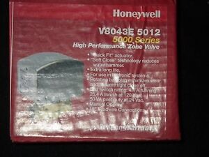 New Honeywell V8043e5012 3 4 Id Sweat 5000 Series Zone Valve New Old Stock