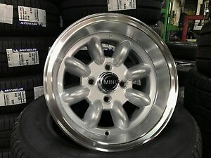 New 13 Inch Mini Cooper Classic Banana Design Wheel Set Of 4 Pcd 4x101 6