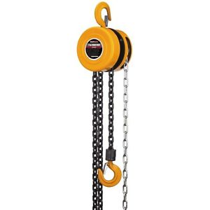 New 1 Ton Extra Long Lift Manual Chain Hoist 16 Ft Chain Free Fedex From Usa