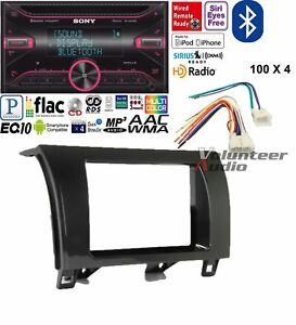 Sony Double Din Cd Player Car Radio Dash Install Mounting Kit Bluetooth