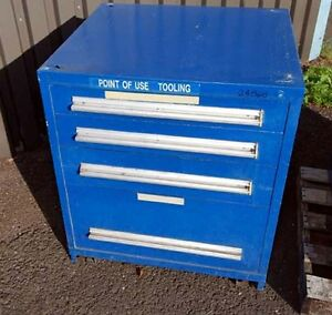 Four drawer Tooling Storage Cabinet inv 24868