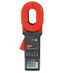 1200 Ohm 4 Digitals Ground Resistance Tester Uni t Ut278a Lcd Display Clamp