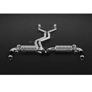 Capristo Bentley Bentayga Complete Valved Exhaust System With Ces 3 Remote