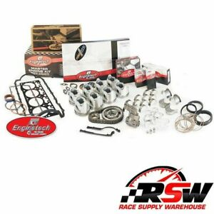 Enginetech Engine Rebuild Overhaul Kit For 1987 1992 Chevy Gmc Trucks 350 5 7l