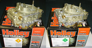Holley Carbs chrysler mopar wedge hemi 426 pair
