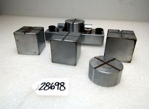 Optical Comparator Stage With Various Staging Blocks inv 28698