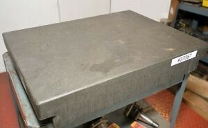 Granite Surface Plate 24 x18 x4 inv 37087