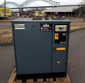 Atlas Copco Ga15 Air Compressor inv 30679
