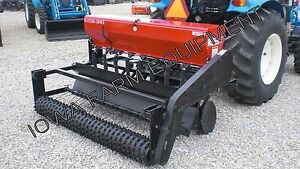 Food Plot Drill Broadcast Seeder Seed Drill 5 Kasco Plotters Choice Combo