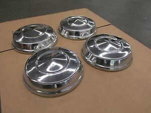 10 Dog Dish Poverty Caps Ford Mercury 10 Inch Hubcaps Hub Caps 4