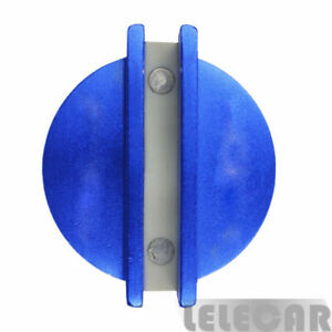 Professional Universal Magnetic Jack Pad Pinch Weld Frame Rail Adapter Blue