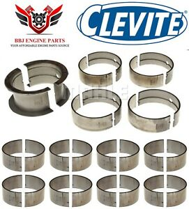 Chevy Bbc 396 402 427 454 Clevite Rod And Main Bearings Set 1965 2000