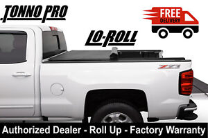 Fits A 2016 2020 Tacoma 5ft Bed Tonno Pro Soft Lo Roll Up Tonneau Cover Lr 5045