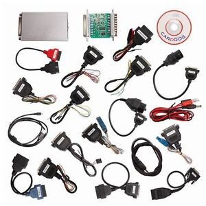 V10 05 Carprog Full Newest Version With All 21 Item Adapters Car Prog Programmer