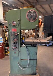 Do all Vertical Band Saw Model 1611 h inv 31575