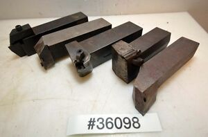 Lot Of Five Turning Tool Holders inv 36098