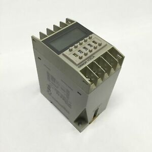 Omron H3ca fa Timer Range 0 1s 9990h Contact Rating 250vac 3a Din Rail