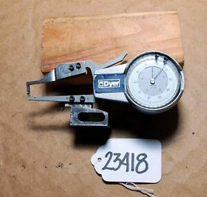 Dyer Direct Reading Mi wall Thickness Gage inv 23418