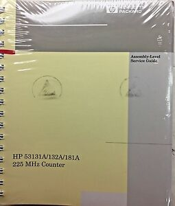 Hp 53131a 132a 181a 225mhz Counter Assembly level Service Guide 53131 90039 New