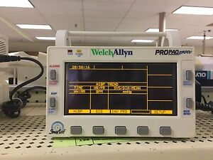 Welch Allyn Propaq Encore 206 El Patient Monitor clearance