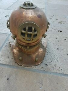 Nautical Helmet Copper And Brass