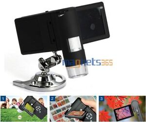 Winmax Handheld Digital 500x Microscope Real 5 0mp 3 Lcd Display With 8 Led