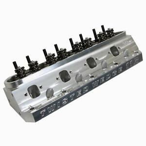 Trick Flow Twisted Wedge 11r Competition Cnc Ported 205cc Cylinder Head Sbf 66cc