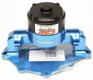 Csr 905nb Ford Small Block Electric Water Pump With Back Plate Sbf 302 347 351