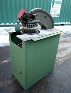 Rotex No 18 Hand Turret Punch inv 30008
