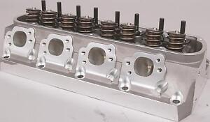Trickflow Twisted Wedge Sbf 225cc Cylinder Heads 65cc 1 550 Valve Springs