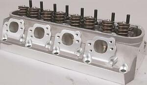 Trickflow Twisted Wedge Sbf 225cc Cylinder Heads 65cc 1 560 Springs Titanium