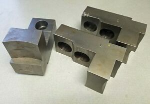 Us Shop Tools M3 15400 Soft Top Jaws Set Of 3 inv 36459