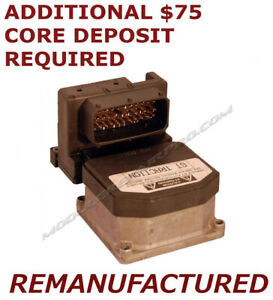 Reman 1999 2004 Ford Mustang Gt Traction Abs Pump Control Module exchange